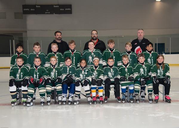 Monday 8-10 Brendan's Team