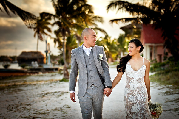 Rachel & Kyle - Wedding - Belize - 24th of March 2018