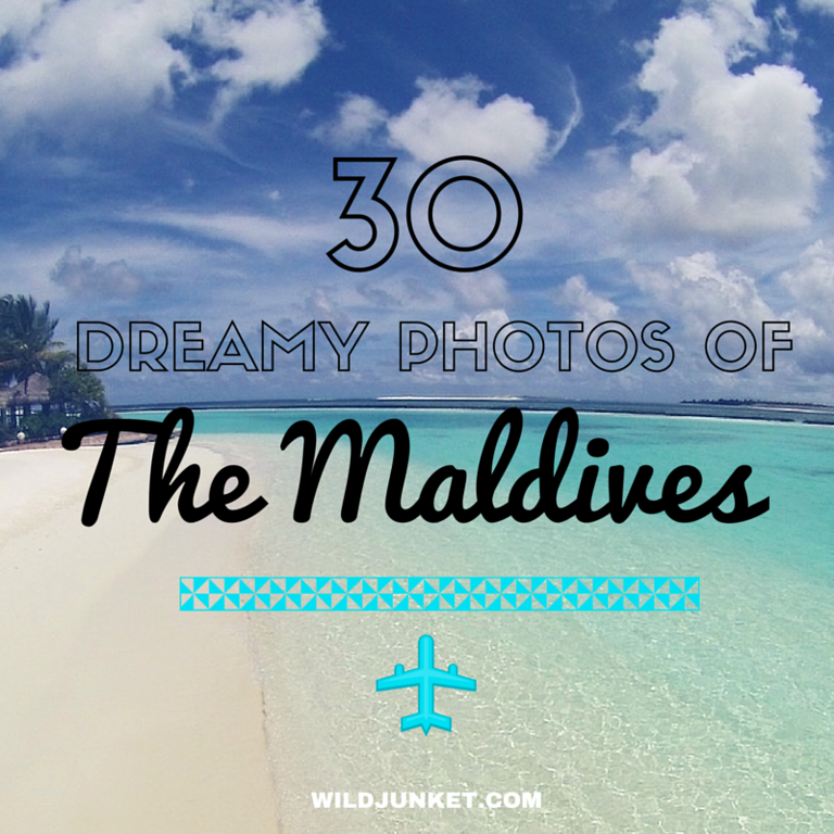 30 photos of Maldives