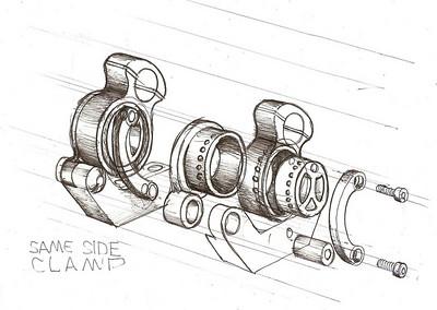 clamps... BIG Eccentrics