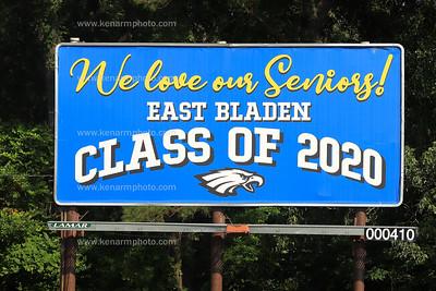 East Bladen 2020 graduation parade