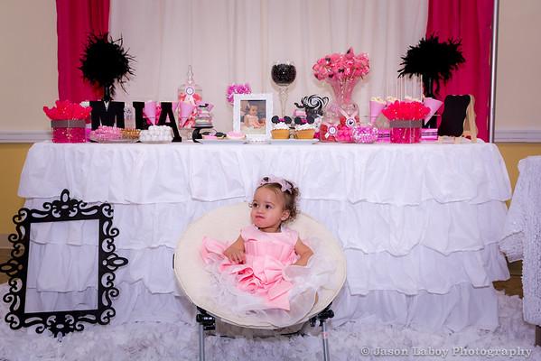Mia 1st Birthday Party