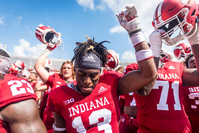 Indiana 38, Ball State 10