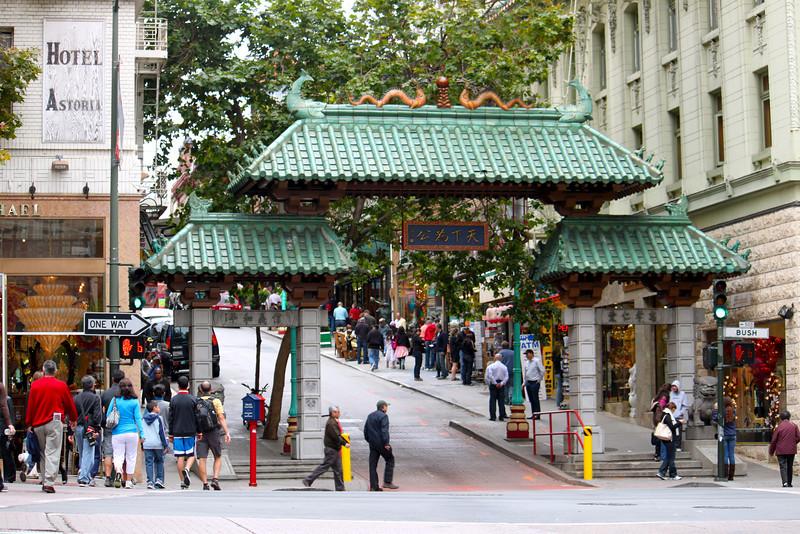 Chinatown gate - San Francisco