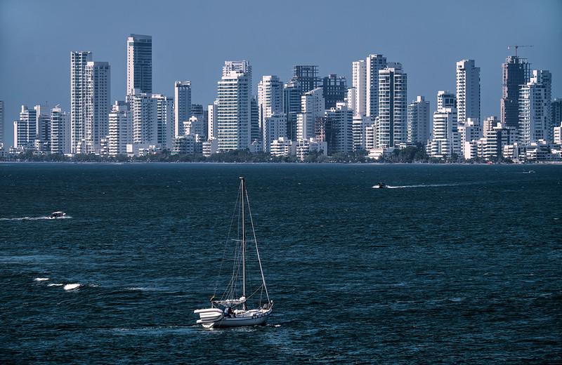Panama City Panama Skyline