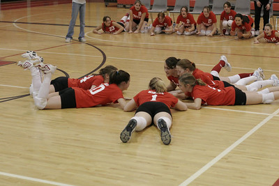 Middle School Girls Volleyball - 3/8/2006 White Cloud