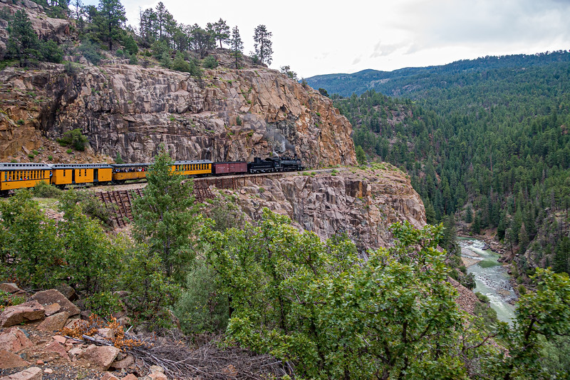 Durango-Silverton Rail Road . . . incredible engineering!
