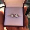 1.85ctw Old European Cut Diamond Stud Earrings 23