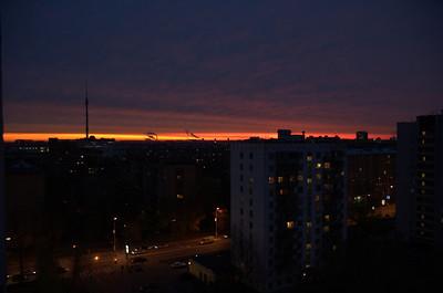 2005-10-26, Sunrise over Ostankino