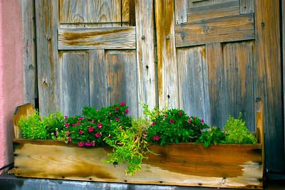 Spring Flower Box