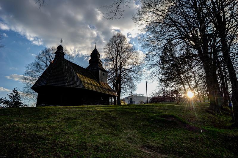Drevenný kostolík, Ruská Bystrá
