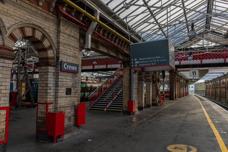 Virgin Trains - Various Signage at Crewe