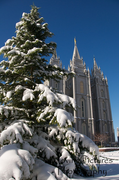 The Main Temple on Temple Square