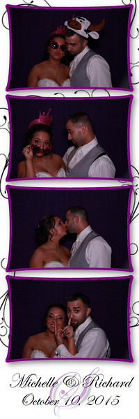 Michelle and Ricky's Photo Booth Pics