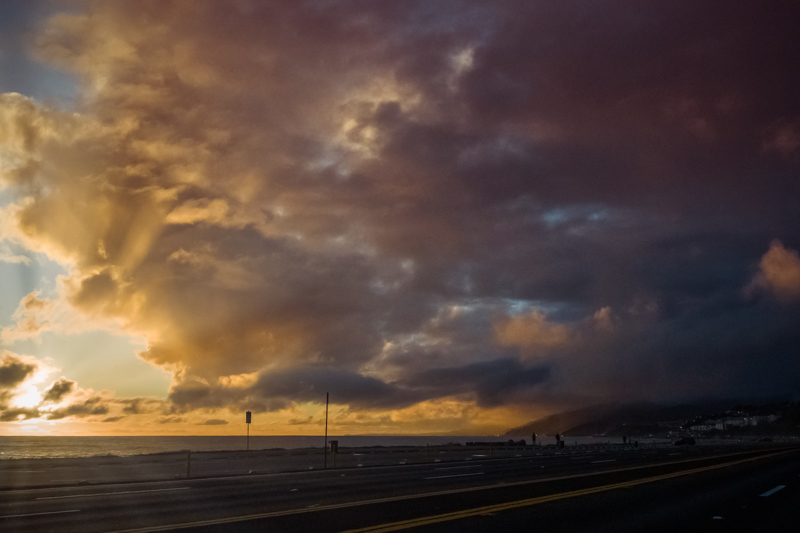 December 4 - Cruising down PCH as the sun is setting.jpg