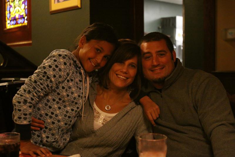 Alyssa, Aunt Kim and Uncle Rick