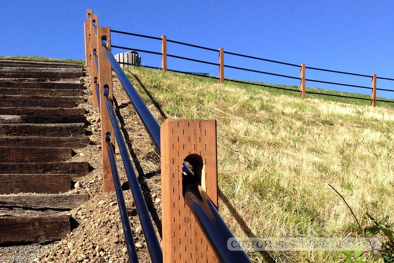 4308 - Pipe Rail Fencing