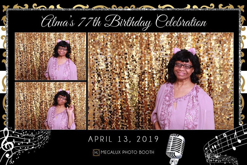 Alma's 77 Birthday Celebration 04-13-19