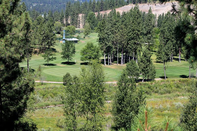 #5 Green, The Creek at Qualchan GC,  Spokane, Wa