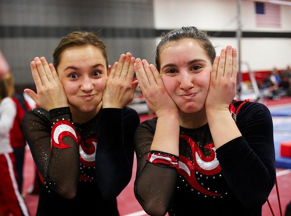 2009.01.29 - Girls' Gymnastics - Niles West @ Varsity Conference
