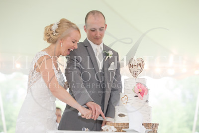 Cake Cutting- Nicole Zarba & Michael Brignolo Wedding Photos- Our Lady Of The Valley Easthampton, MA/ Woolman Hill Deerfield, MA