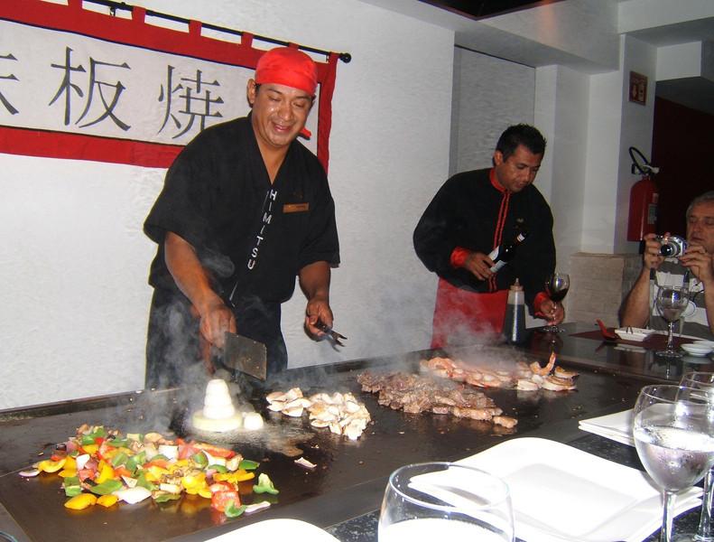 ...at Himitsu restaurant