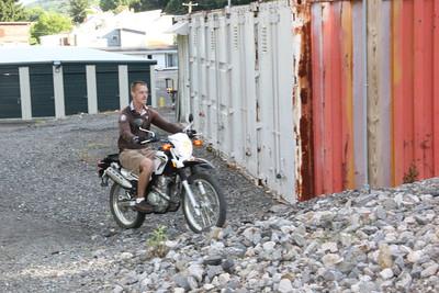 Me on My New Bike, Tamaqua (6-25-2012)