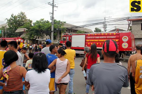 Fire in Barangay Carreta, Cebu