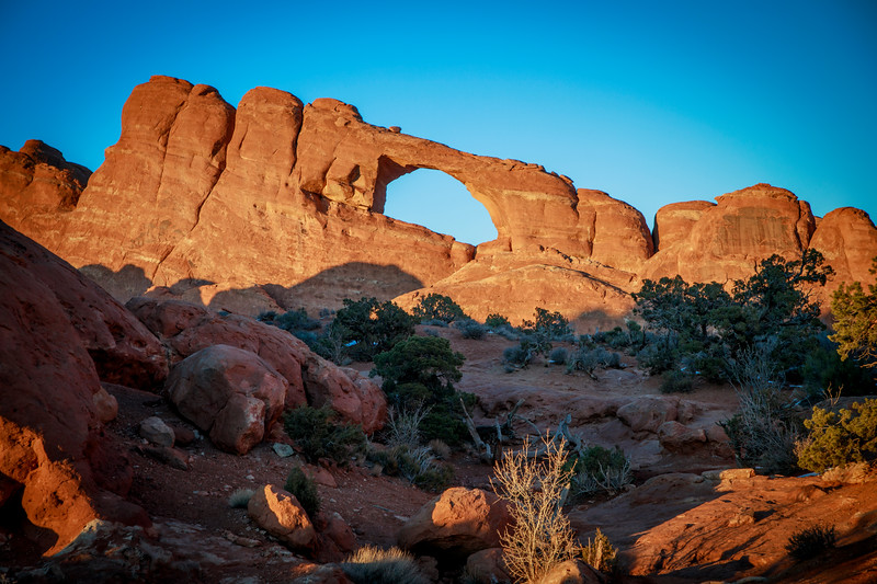 Skyline Arch in Arches NP