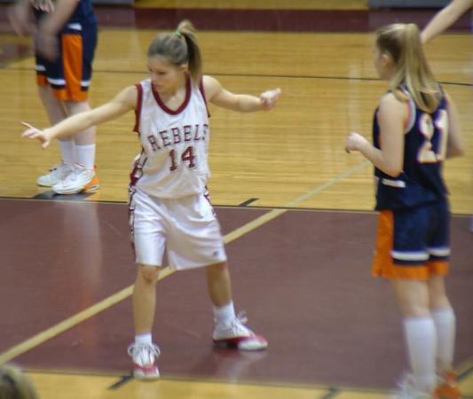 SNHS Girls Basketball vs NN 2004