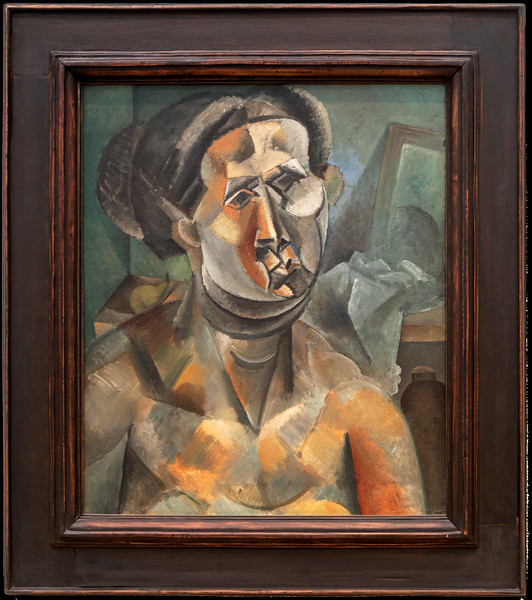 "Picasso's ""Head of a Woman, Summer 1909"""