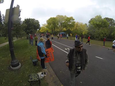 Twin Cities Marathon 2013 GoPro shots mile 24
