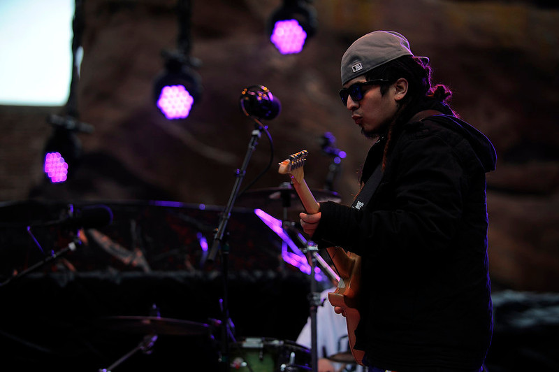 . Joe Rodriguez of Tribal Seeds performs at Red Rocks on Saturday, April 20, 2013 during Slightly Stupid\'s 420 Hot Box as a part of the High Times US Cannabis Cup. Seth A. McConnell, The Denver Post