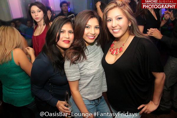 11-27-15 Oasis Lounge | Fantasy Fridays