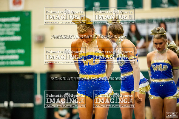 Lexington Varsity Cheer-Silverfox Invitational