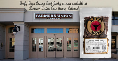 Beefy Boys Beef Jerky Farmers Union Pour House 6-14-20