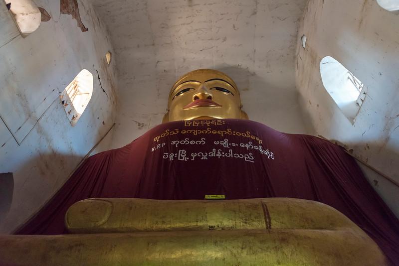 Manuha Temple, Bagan