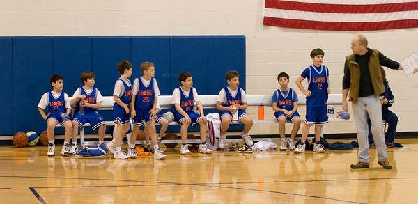 YAVNEH LIONS 4th Grade Baskbetball Team