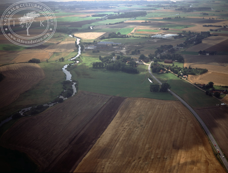 Dalby area, stream and farmland (1990) | PH.0911