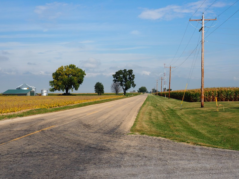 Prairie country northwest of LaSalle