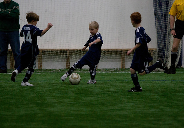 8u Hudson United Boys Indoor 1/29/2011