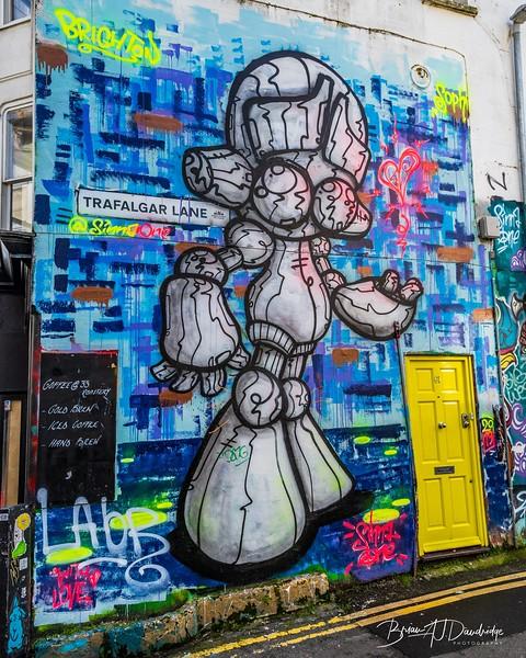 Wall-art or Graffiti?