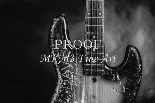Fender Jazz Bass Guitar Pictures  in Black and White Photographs