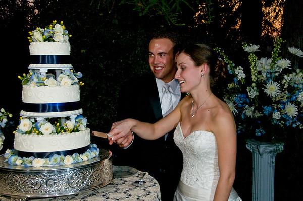 Scott & Kristin Wedding Reception - Cake Cutting