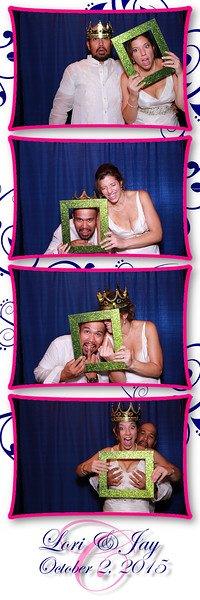 Lori and Jay Photo Booth Pics