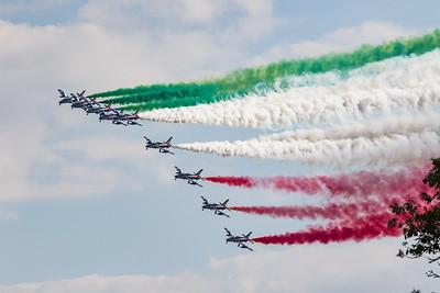 2018 Frecce Tricolori - Italian Airforce @RIAT