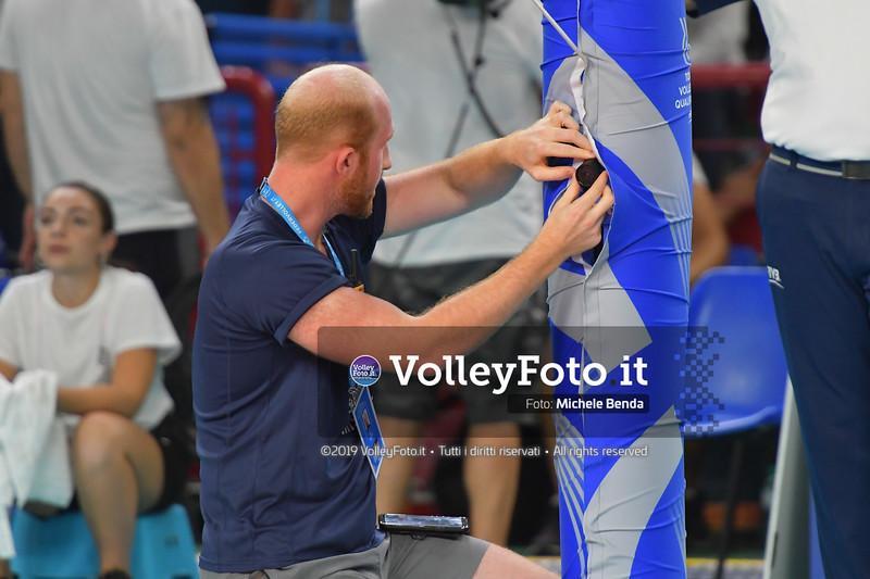ITALIA vs SERBIA, 2019 FIVB Intercontinental Olympic Qualification Tournament - Men's Pool C IT, 11 agosto 2019. Foto: Michele Benda per VolleyFoto.it [riferimento file: 2019-08-11/ND5_7333]