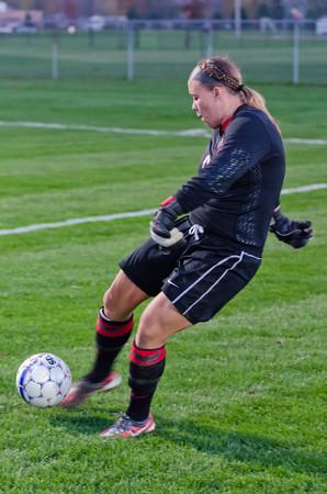10/25/12 Women's Soccer vs. SAU