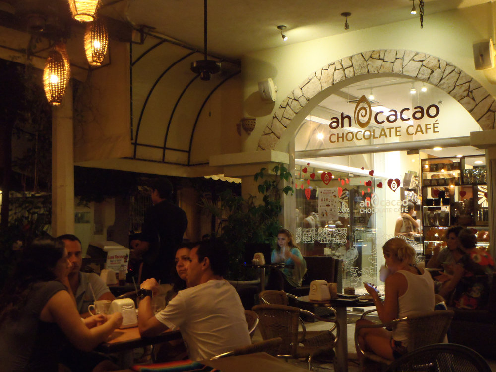 . Quintana Roo is famous for its chocolate, and a good place to pick some up is the Ah Cacao Cafe in Playa del Carmen, which offers all kinds of chocolate products, as well as some of the best lattes and hot chocolate in town. (Kyle Wagner/Special to the Denver Post)