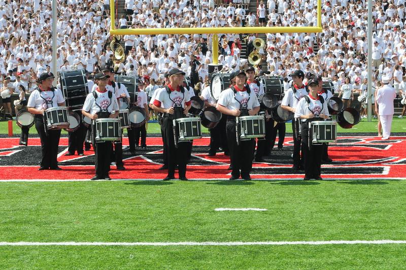 UC Band_UC vs Purdue_Nippert Stadium_Cincinnati, OH_08-31-2013